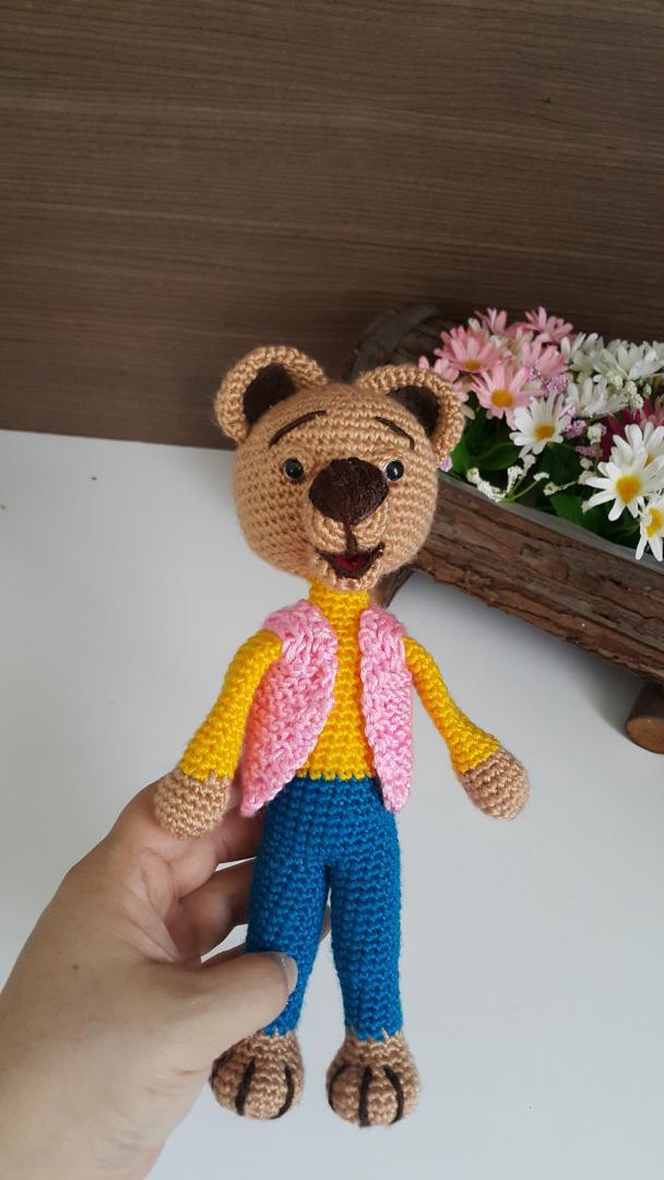 Ayı Teddy Yapımı Amigurumi - #1 (Crochet Amigurumi Teddy Bear ... | 1080x608