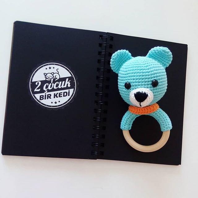 Amigurumi) Masum Ayıcık Kafa Yapımı - Teddy Bear 1/4 - YouTube | 640x640