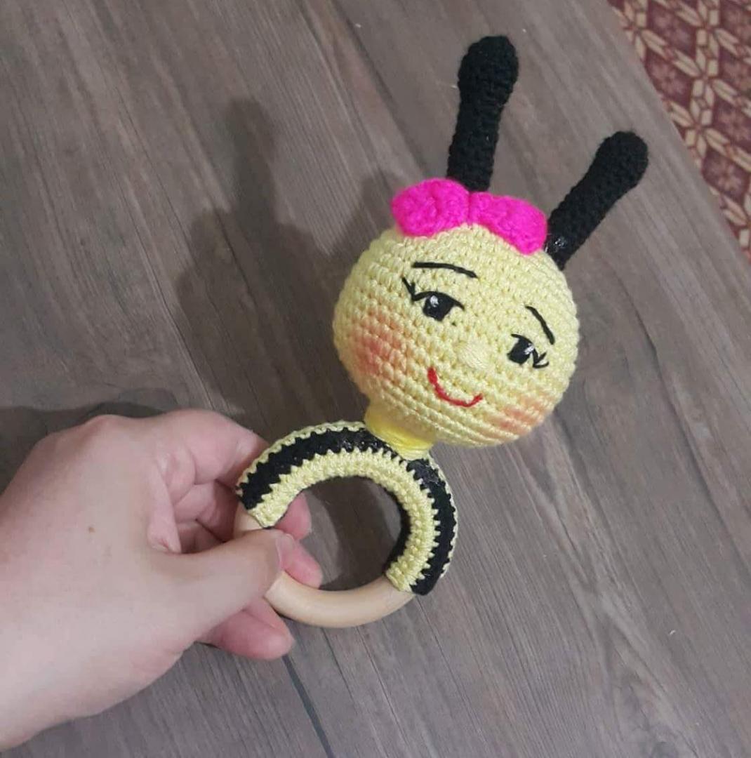 Amigurumi Çıngırak Arı Yapımı