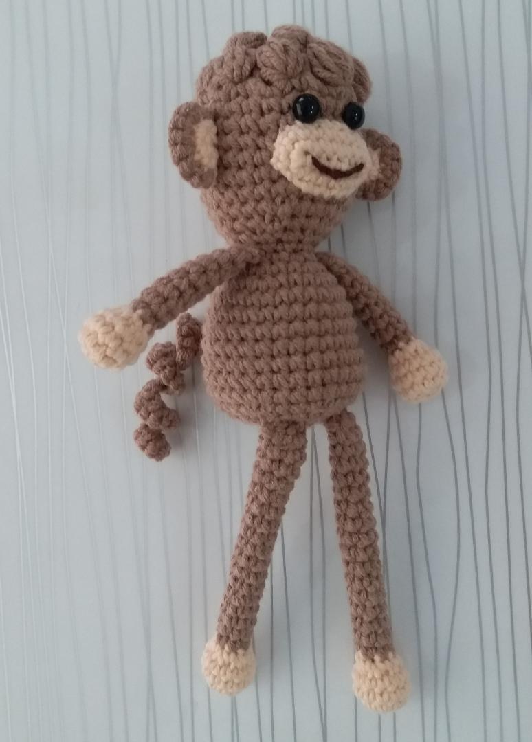 Amigurumi - Amigurumi Kıvırcık Bebek Maymun Yapımı - Örgü Modelleri | 1080x774