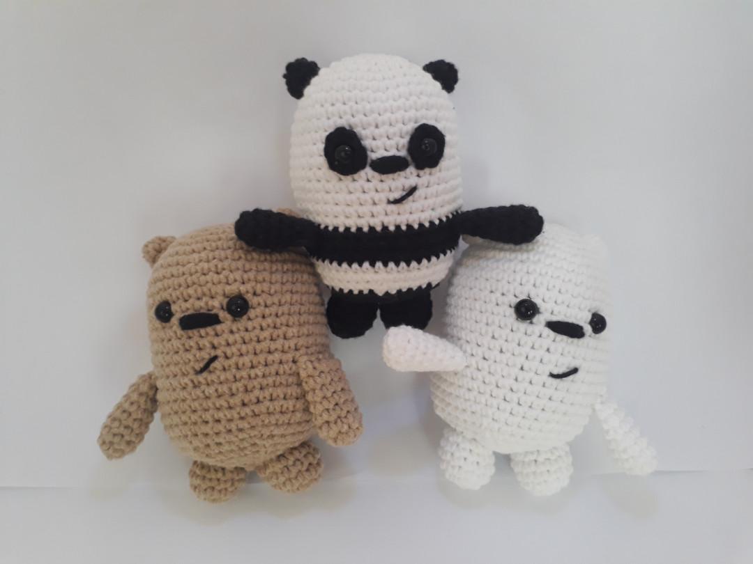 Amigurumi Panda Free Pattern | Amigurumi modelleri, Desenler ... | 810x1080