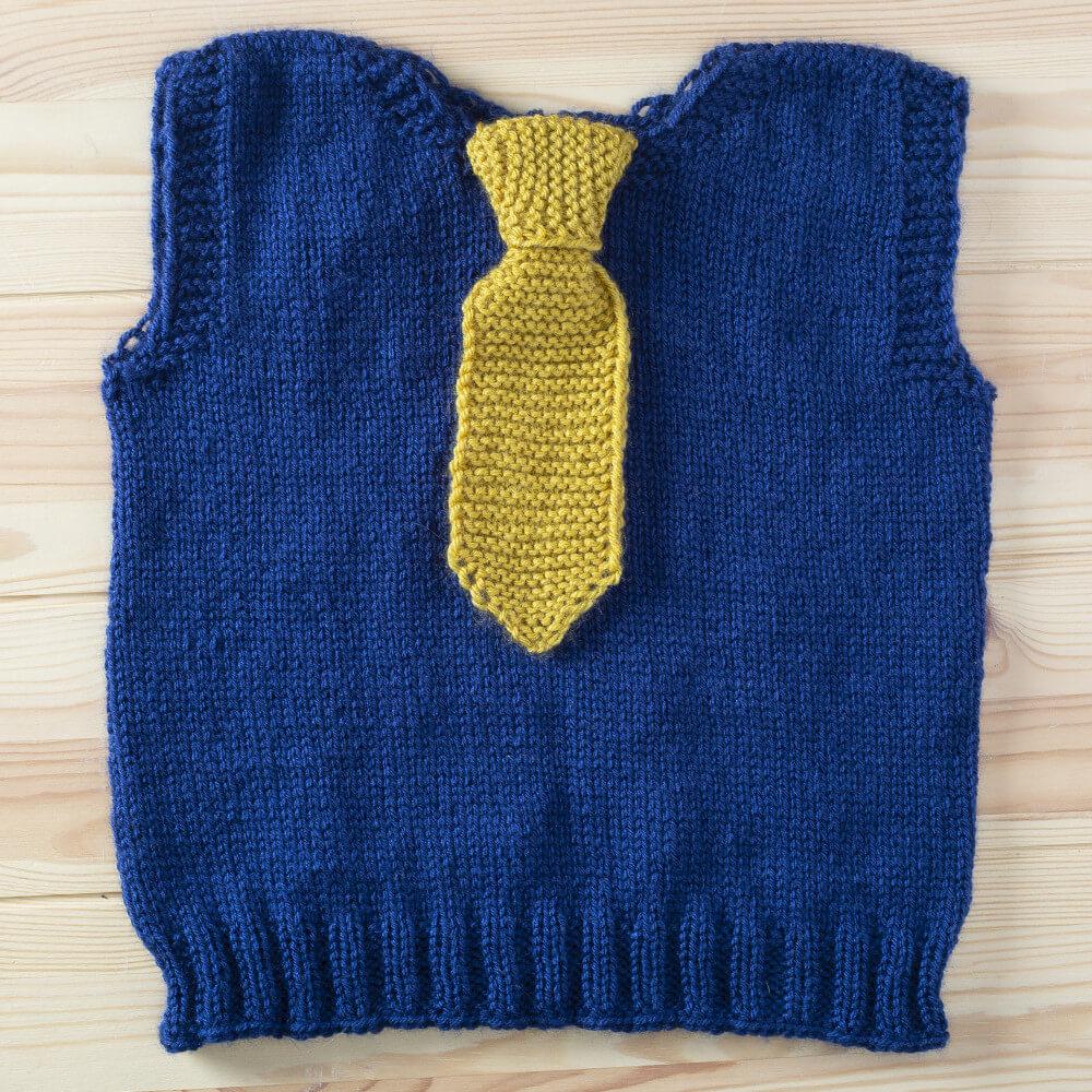 kravatlı bebek süveteri