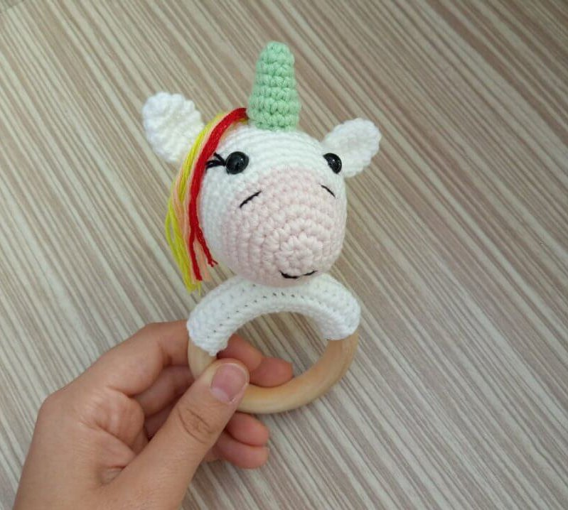 Unicorn Çıngırak/Diş Kaşıyıcı Yapımı