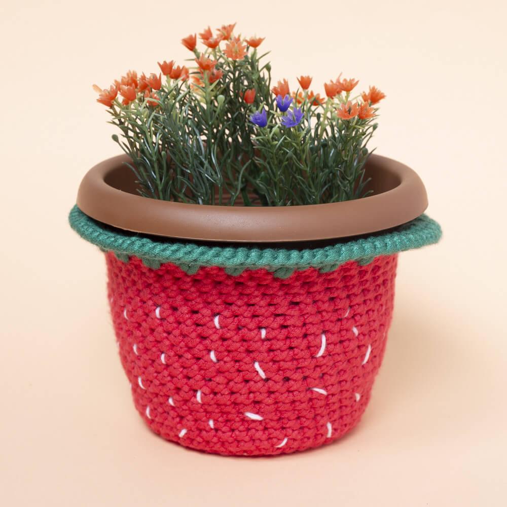 Amigurumi saksılı çiçek yapımı - 10marifet.org | 1000x1000