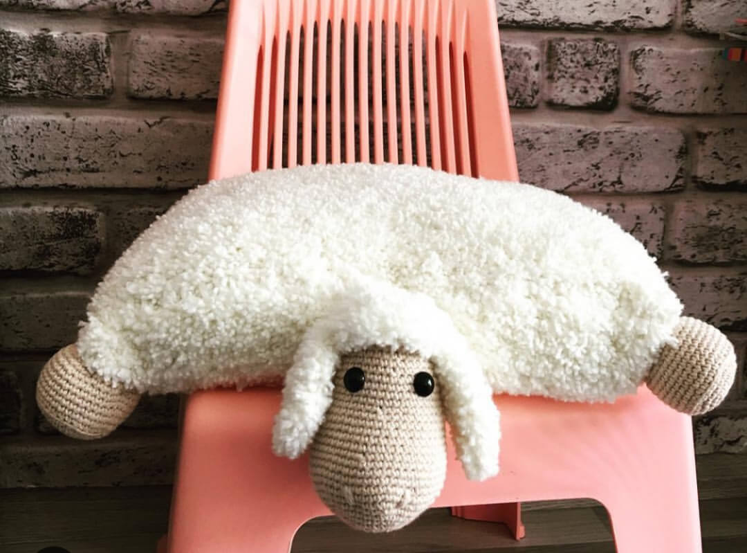 Crochet Unicorn Pillow - Cushion Step by Step - YouTube | 799x1080