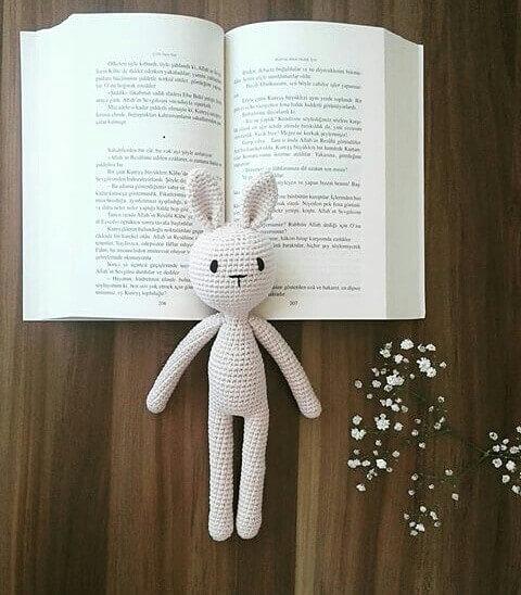 Amigurumi Tavşan Tarifi anlatımlı | Amigurumi, Örgü, Tavşancıklar | 548x480