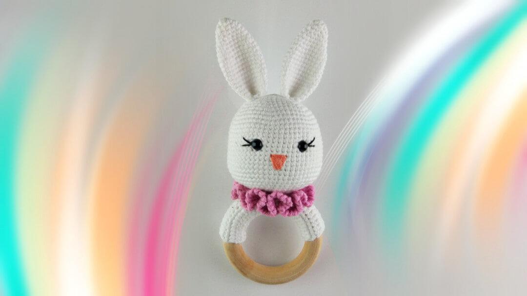 Amigurumi Atkılı Tavşan Çıngırak Yapımı