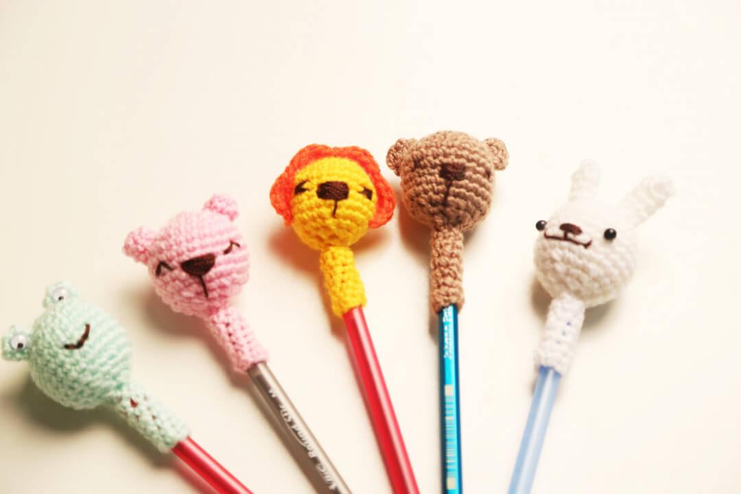 amigurumi-sevimli-hayvanlar-kalem-basliklari-yapimi