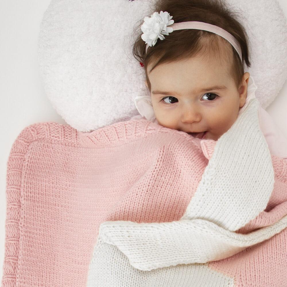 tavşanlı bebek battaniyesi