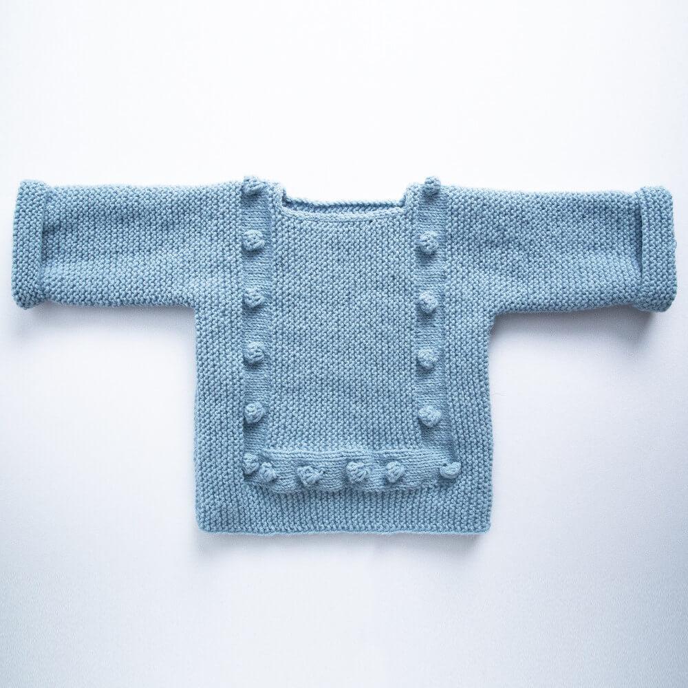 ponponlu bebek kazağı