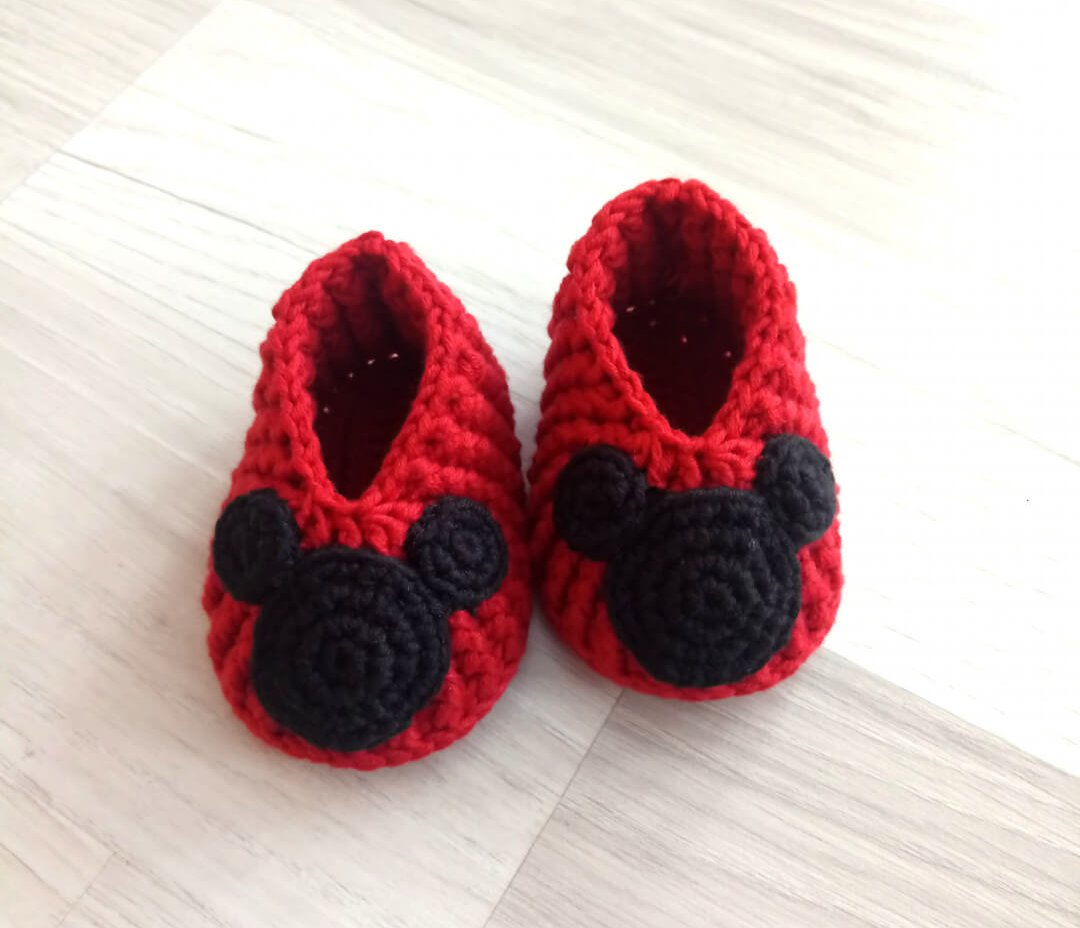 mickey-mouse-bebek-patigi-yapimi