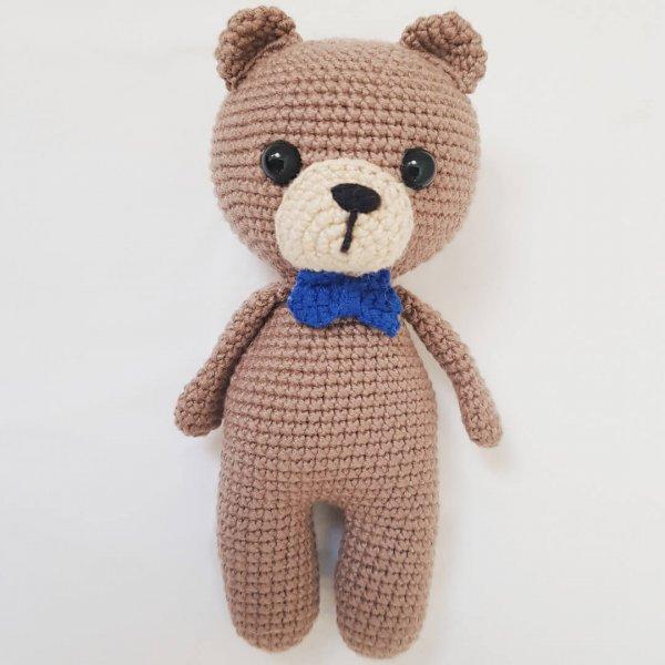 Amigurumi) Masum Ayıcık Tulum Örme - Teddy Bear 4/4 - YouTube | 600x600