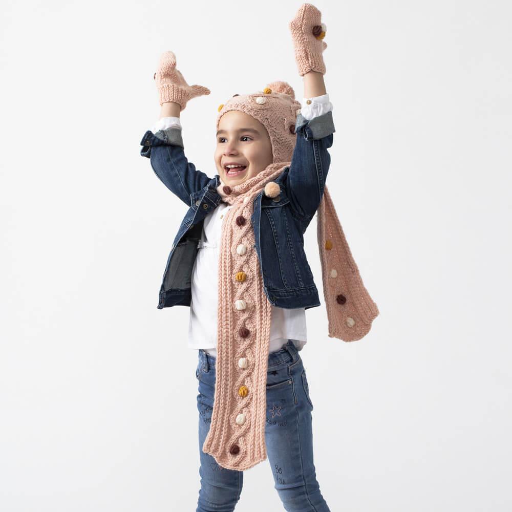 baklava-modelli-atki-bere-eldiven-yapimi