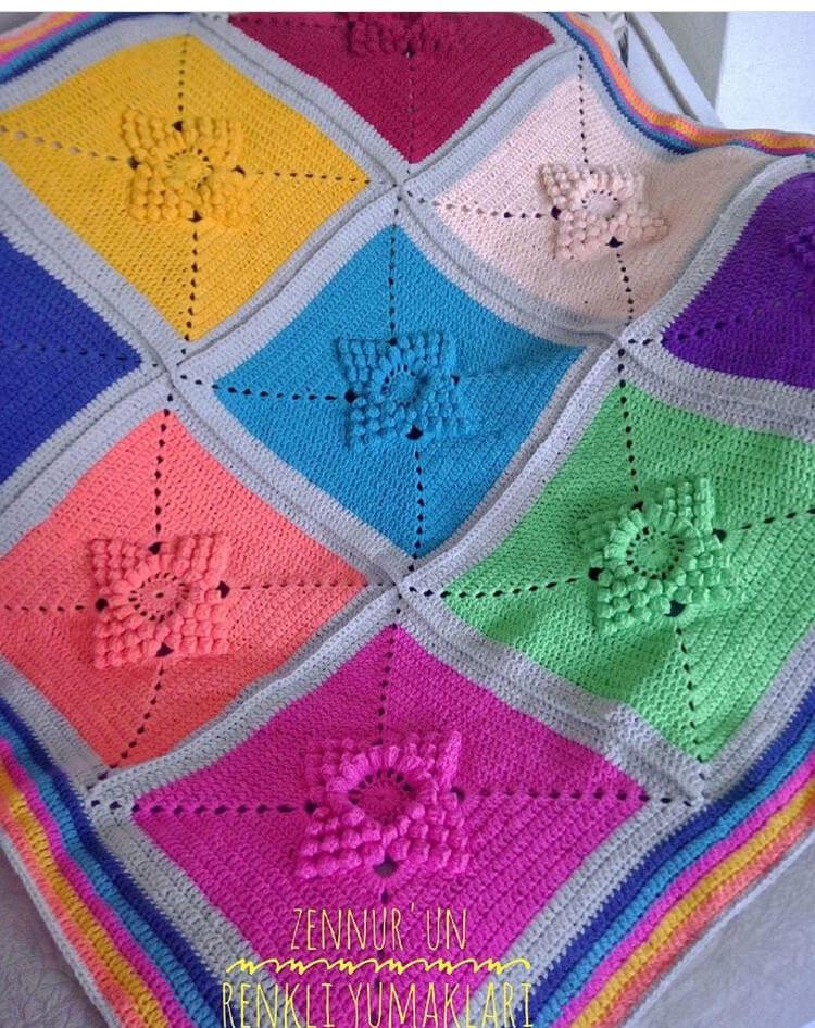 yildiz-motifli-battaniye-yapimi