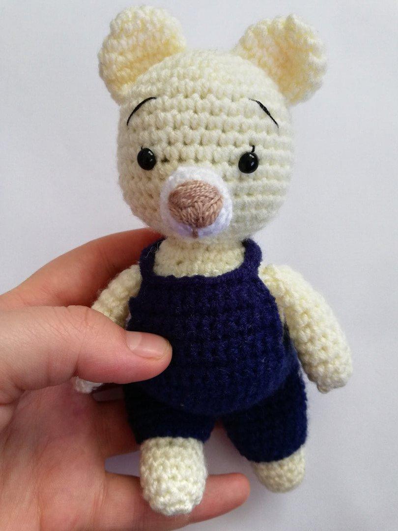 AMİGURUMİ SEVİMLİ AYICIK YAPIMI- Sweet Bear Crochet Pattern - YouTube | 1080x810