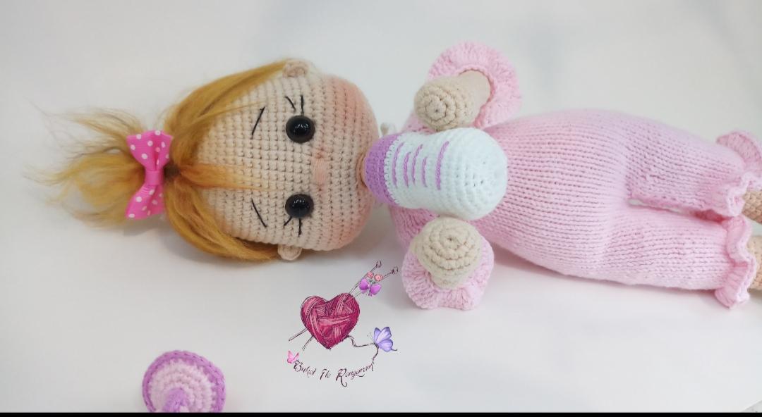 7.video /Kolay Amigurumi Barbie bebek göz Yapımı | CROCHET Video ... | 592x1080