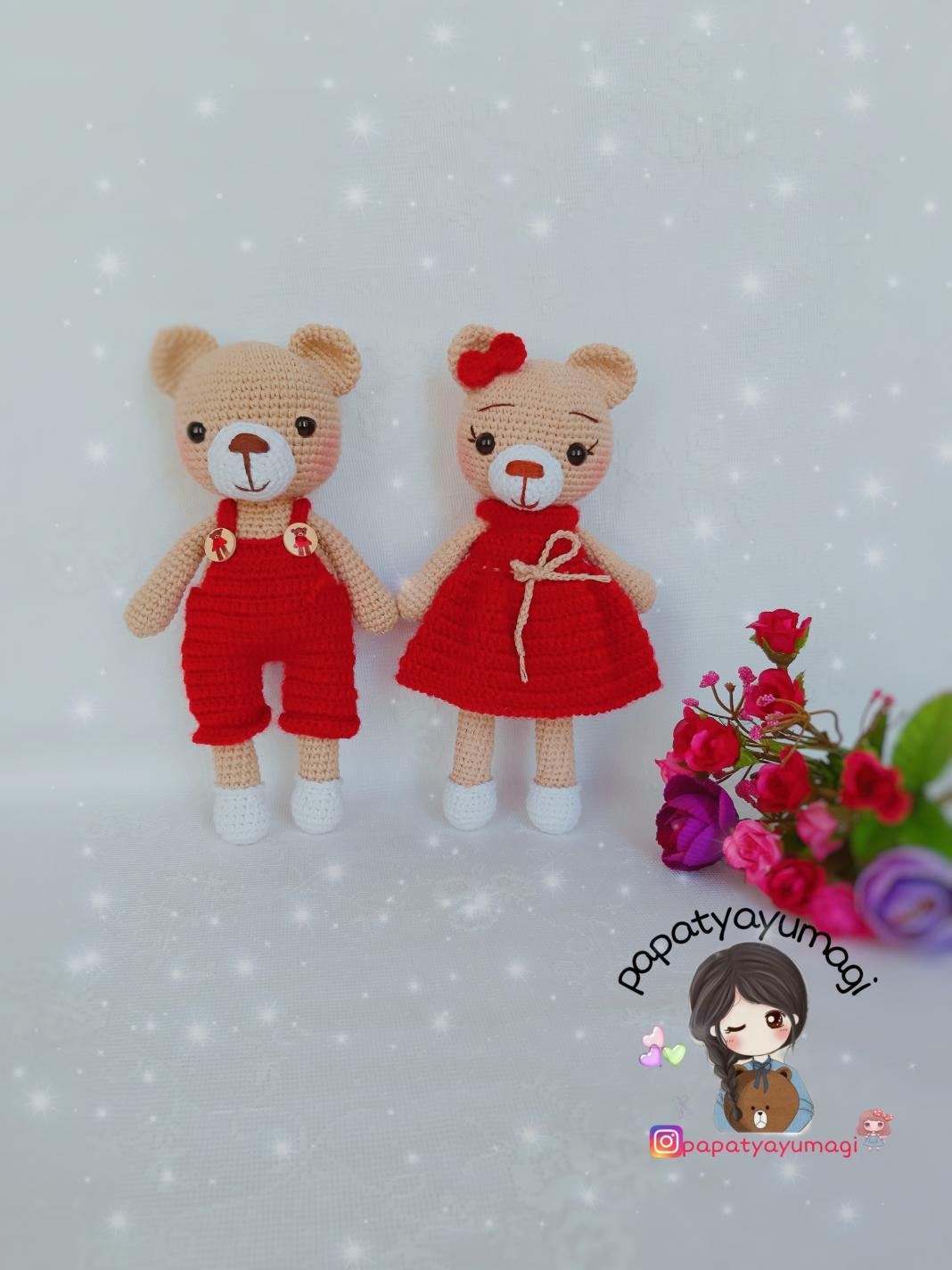 Amigurumi) Masum Ayıcık Kafa Yapımı - Teddy Bear 1/4 - YouTube | 1424x1068