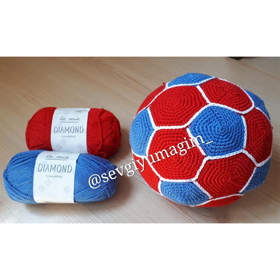 amigurumi-futbol-topu-yapimi