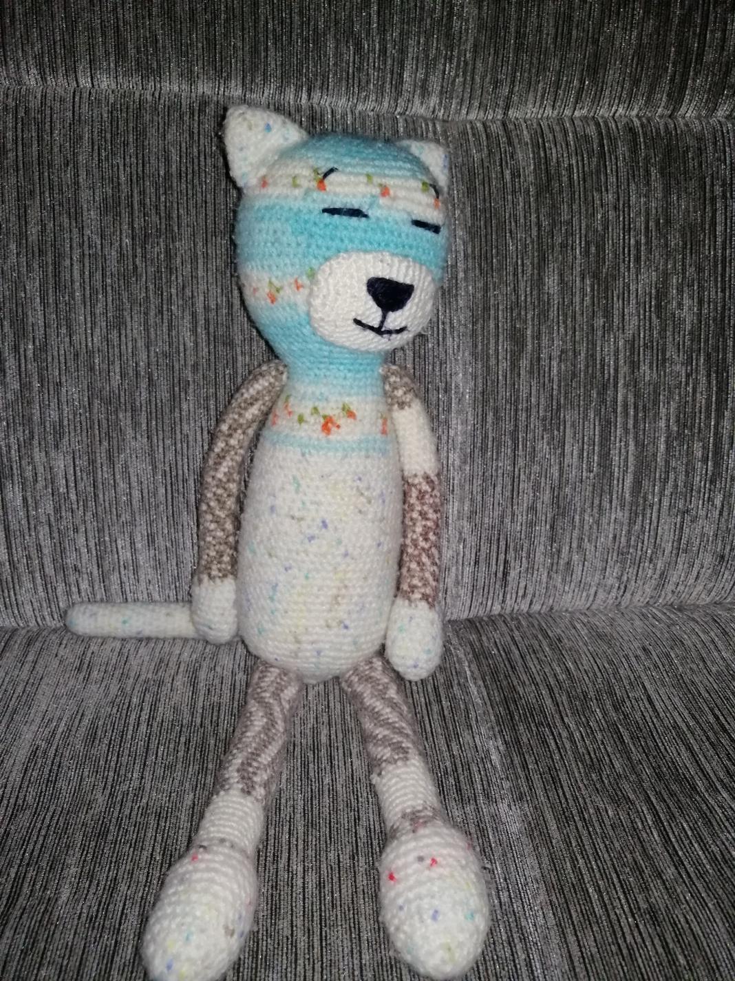 Tığ işi örgü oyuncak(Amigurumi) Kedi Tarifi-Açıklaması | 1424x1068
