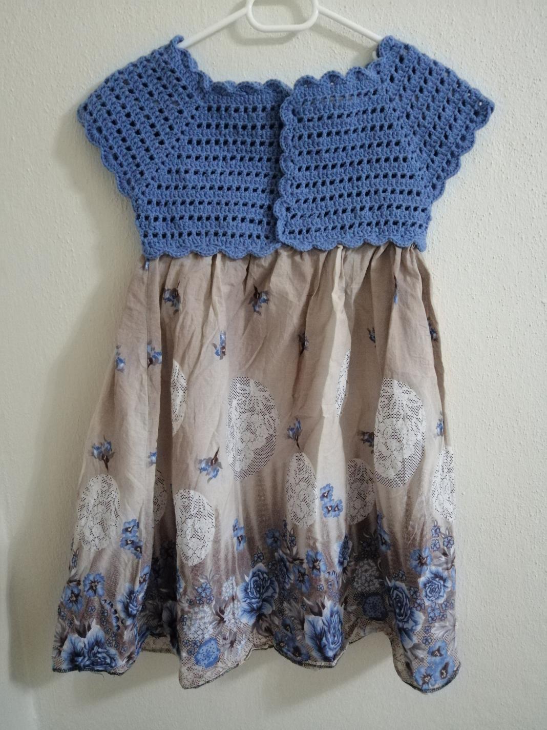 orgu-robali-kumas-cocuk-elbisesi-yapimi