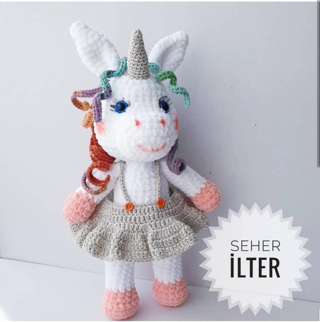 amigurumi-kokos-unicorn-yapimi