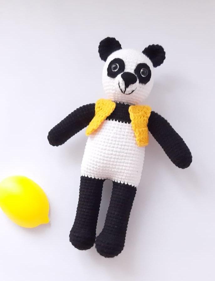 amigurumi-yelekli-panda-yapimi