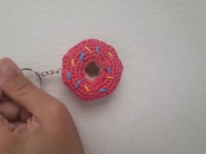 amigurumi-donut-anahtarlik-yapimi