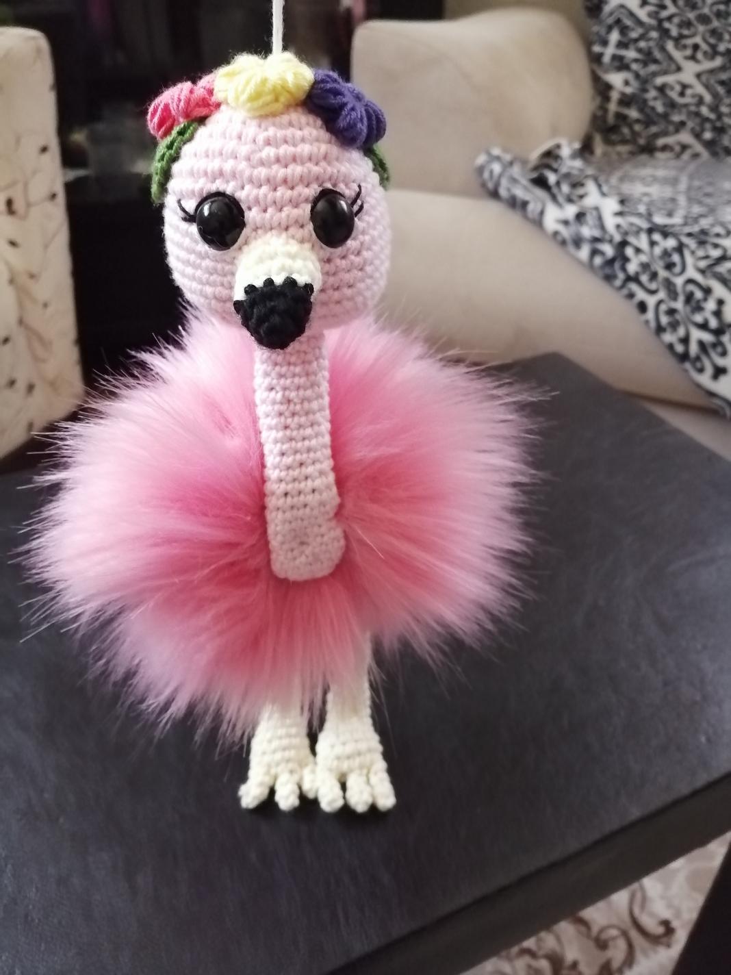 amigurumi-flamingo-yapimi