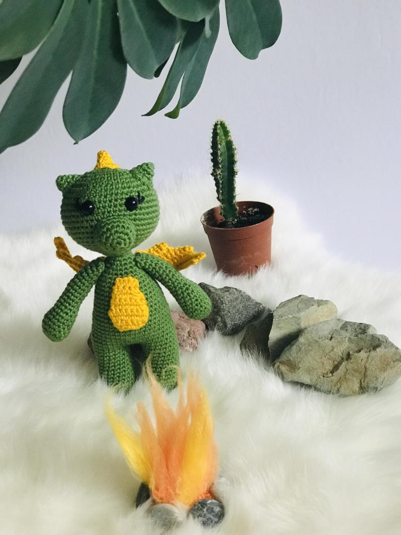 amigurumi-ejderha-marry-yapimi