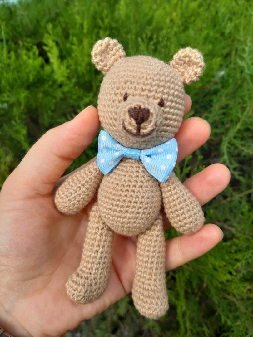 Ayı Teddy Yapımı Amigurumi - #1 (Crochet Amigurumi Teddy Bear ... | 1080x810