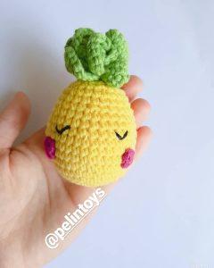 amigurumi-ananas-yapimi