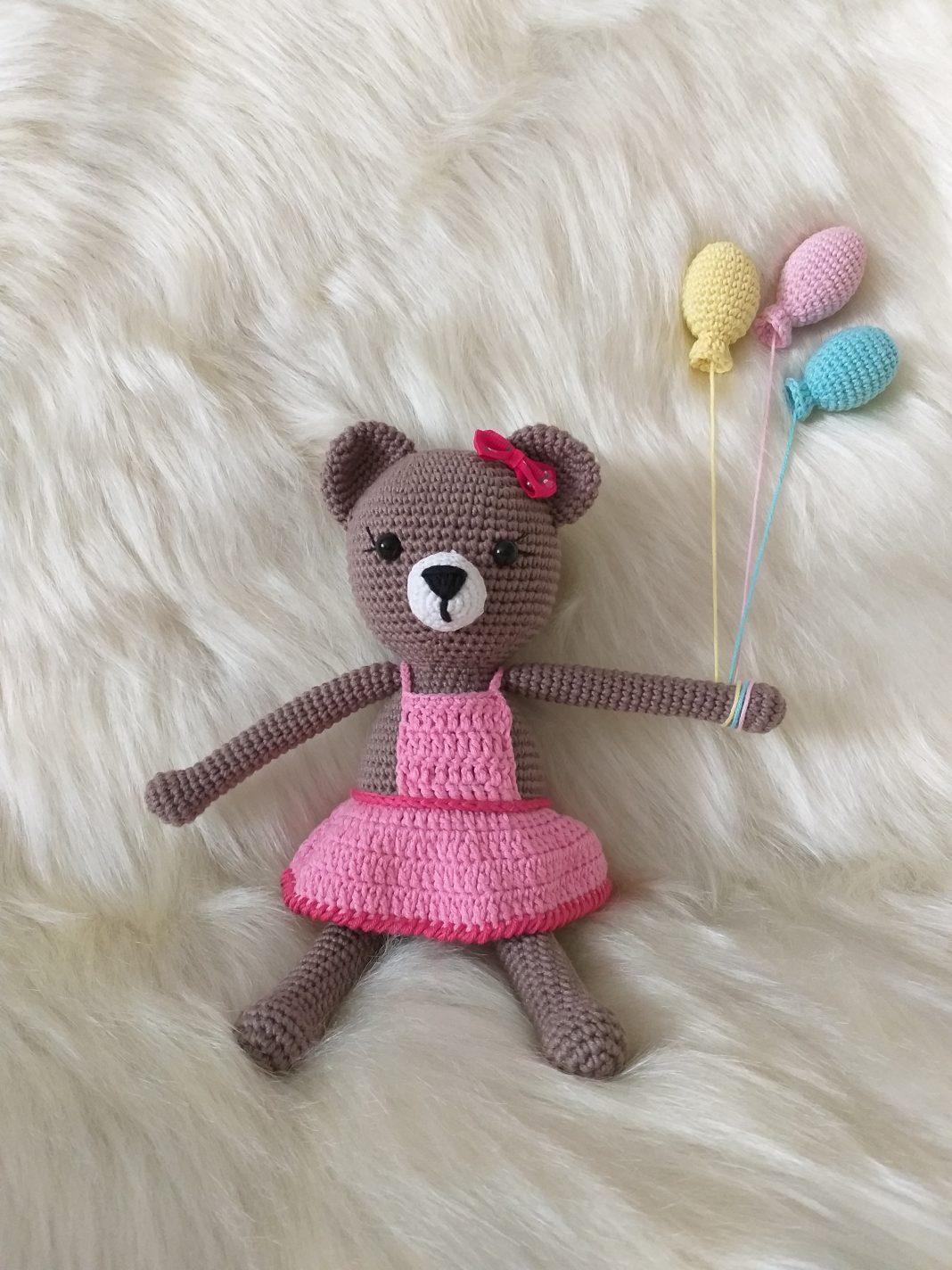 21# Amigurumi yelekli ayıcık yapımı / amigurumi vest teddy bear ... | 1424x1068