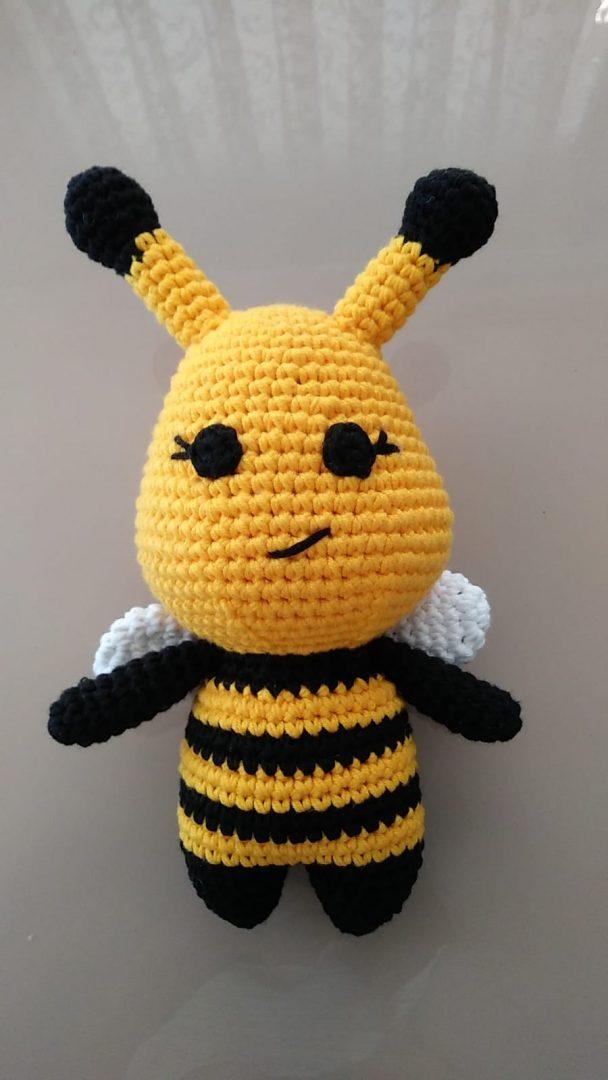 amigurumi-arı-yapimi
