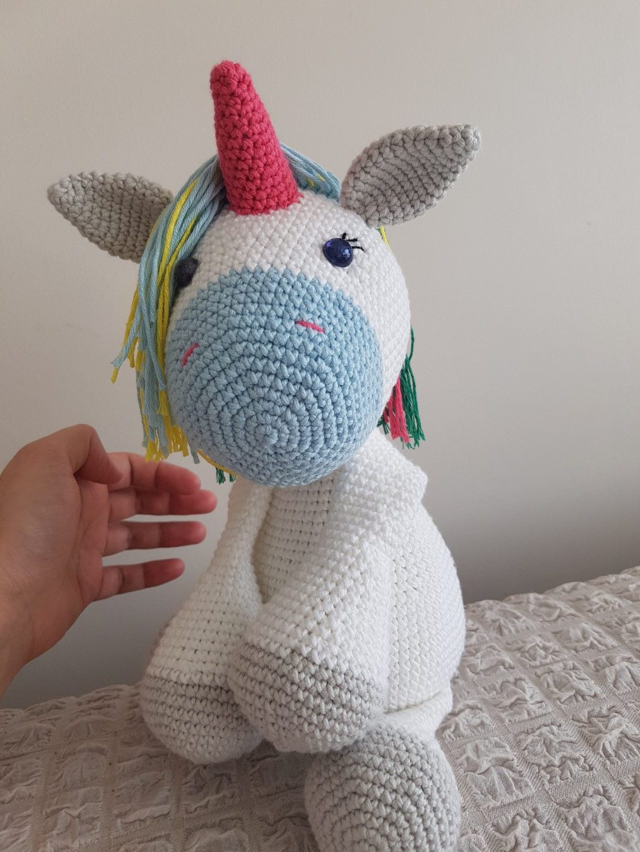 Amigurumi Unicorn Yapımı - Ön Bacak ve Kulak Yapılışı 3.Bölüm ... | 1440x1080