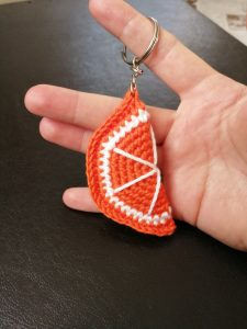 amigurumi-portakal-anahtarlik-yapimi