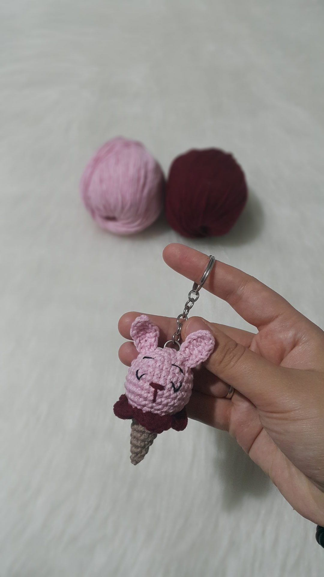 AMİGURUMİ DONDURMA ANAHTARLIK, ÇANTA SÜSÜ YAPIMI. Crochet making ... | 1920x1080