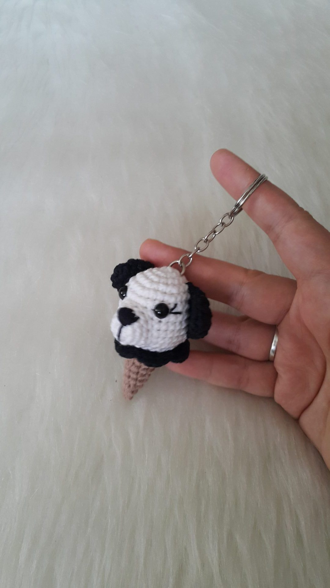 Amigurumi PANDA ANAHTARLIK, BROŞ,TOKA - YouTube | Make it yourself ... | 1920x1080