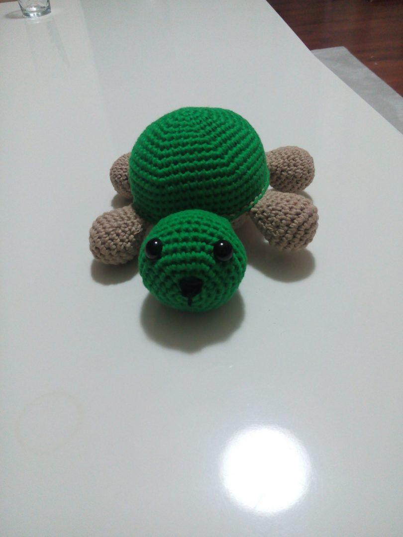 amigurumi-kaplumbaga-yapimi