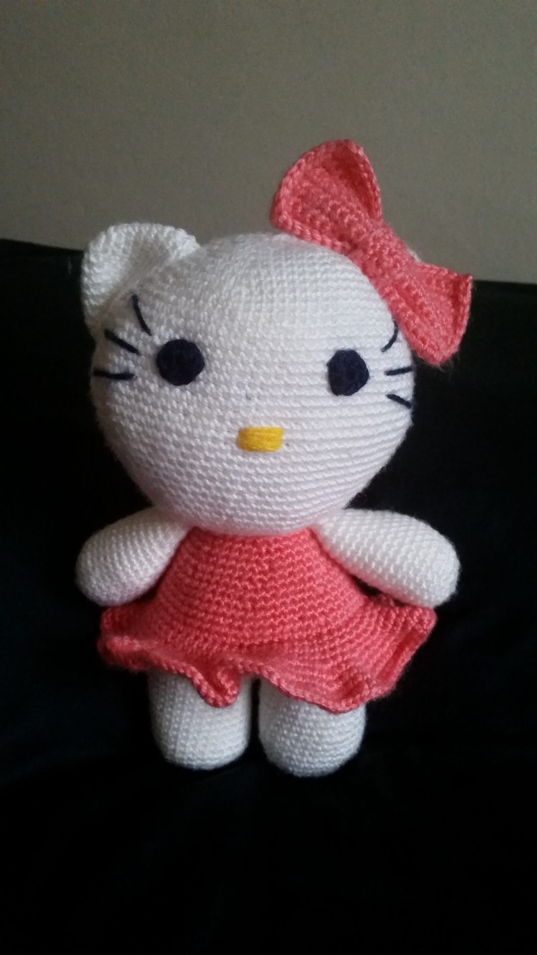 Big Hello Kitty Amigurumi Free Pattern (mit Bildern) | Hallo kitty ... | 1899x1068