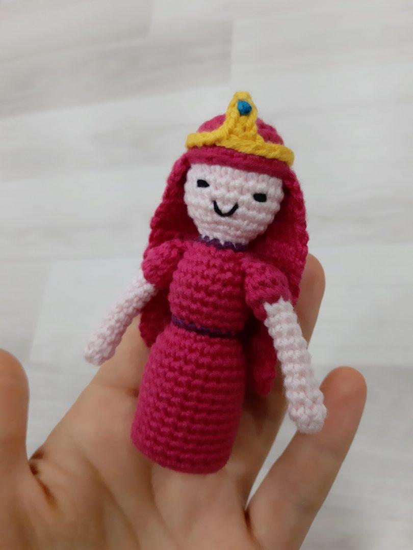 amigurumi-prenses-bubblegum-yapimi