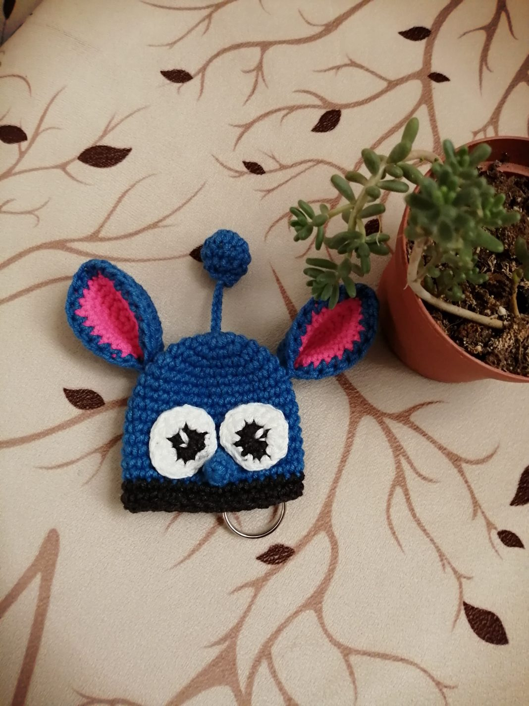 amigurumi-stitch-anahtarlik-yapimi