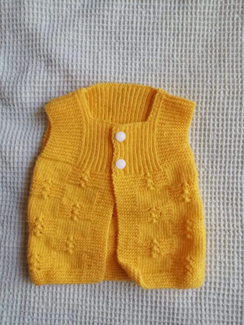 sari-bebek-yelegi-yapimi